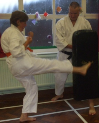 Traditional shotokan